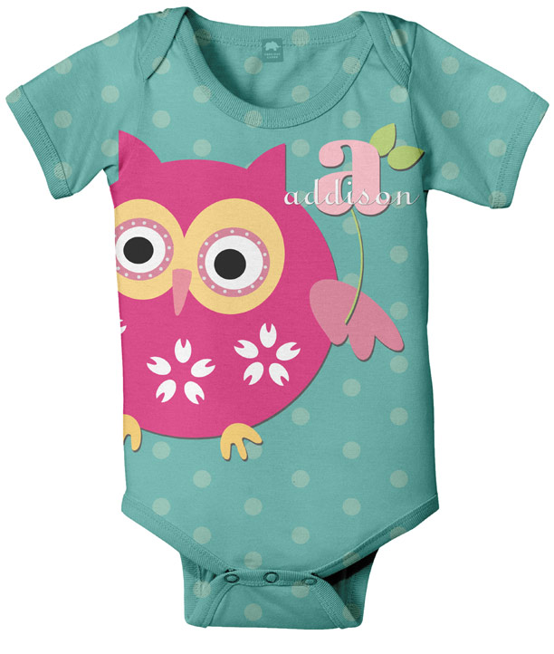 Personalized Baby Onesies, unique custom baby shirts with full ...