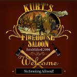 fireman, firehouse personalized bar coaster set