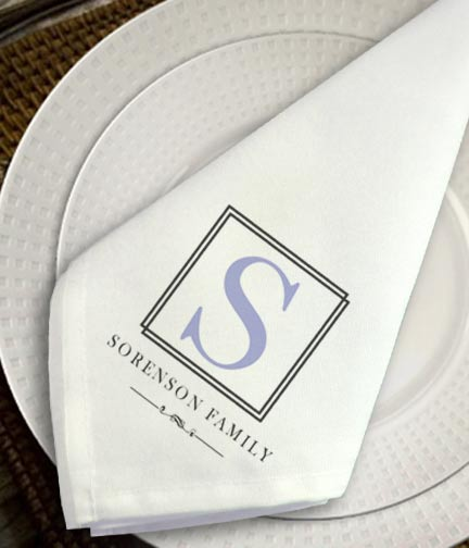 personalized cloth napkinssimply sublime