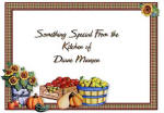 personalized harvest time brownie pan
