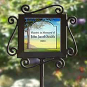Personalized garden stakes