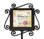 personalized garden stake, memorial garden marker, pet memorial,