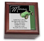 Green Car Block Tooth Fairy Box