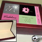 Childrens keepsake boxes