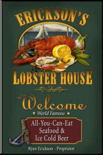 Lobster House Pub Sign
