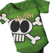 Personalized baby snapsuits
