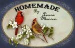 personalized cardinals 1 brownie pan