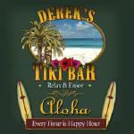 tiki bar personalized bar coasters