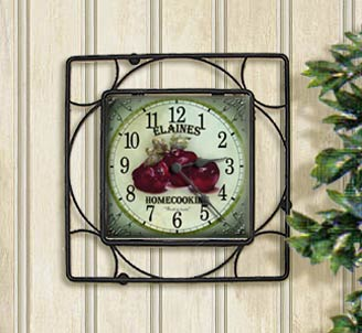 Personalized tile clock