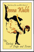 Vintage Dancing Girl Sign